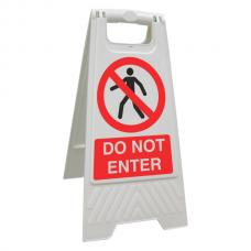 Do Not Enter Floor Stand