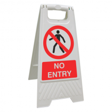 No Entry Floor Stand