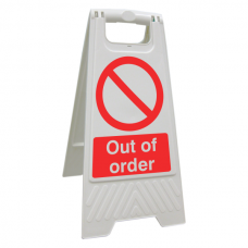 Out Of Order Floor Stand