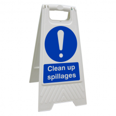 Clean Up Spillages Floor Stand