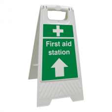 First Aid Station Floor Stand