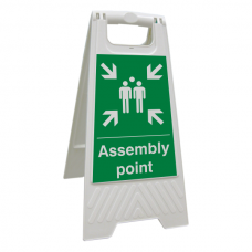 Assembly Point Floor Stand