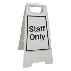 Staff Only Floor Stand