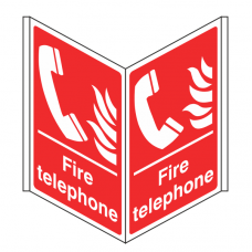 Fire Telephone Projecting Sign