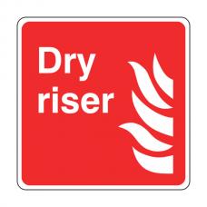 Dry Riser Sign (Logo)