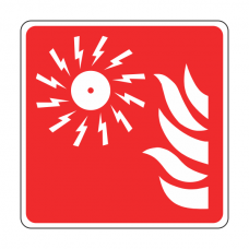 Fire Alarm Bell Sign