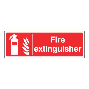 Fire Extinguisher Sign (Landscape)