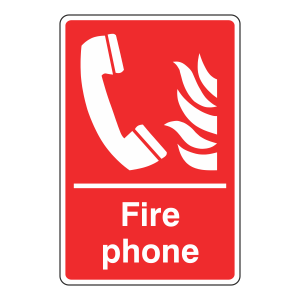 Fire Phone Sign