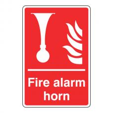 Fire Alarm Horn Sign
