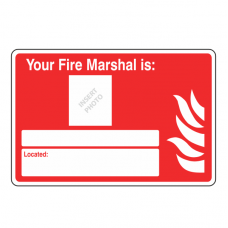 Your Fire Marshal Is Sign