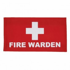 Fire Warden Arm Band with velcro closure