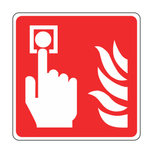 Fire Alarm Call Point Sign (logo)