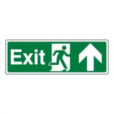 Exit Arrow Up Sign