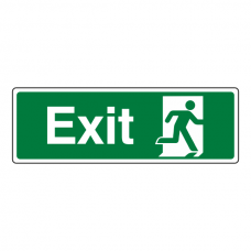 Final Exit Man Right Sign