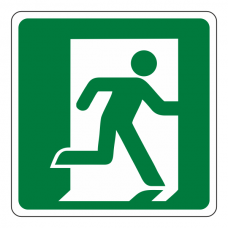 Fire Exit Man Right Sign (logo)
