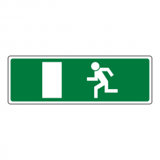 EC Final Fire Exit Man Right Sign