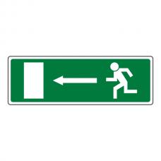 Fire Exit Arrow Left Luminere Sign