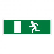 Final Fire Exit Man Left Luminere Sign