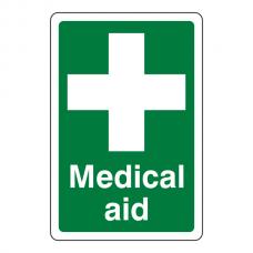 Medical Aid Sign