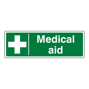 Medical Aid Sign