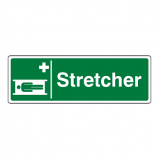 Stretcher Sign (Landscape)