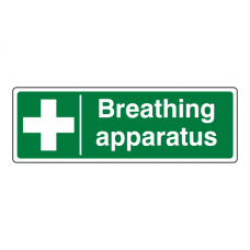 Breathing Apparatus Sign (Landscape)
