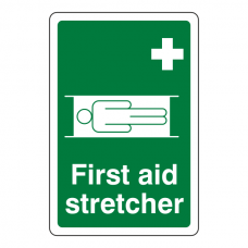 First Aid Stretcher Sign