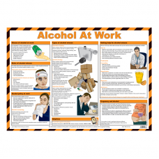 Alcohol At Work Safety Poster