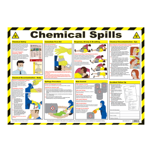 Chemical Spills Poster