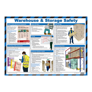Warehouse & Storage Safety Poster