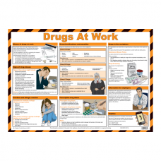 Drugs At Work Safety Poster