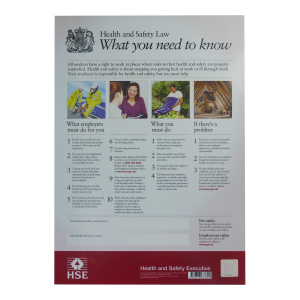Health and Safety Law Poster