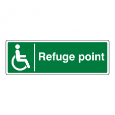 Refuge Point Sign (Landscape)