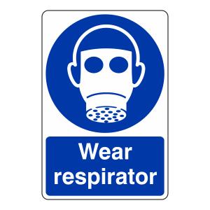 Wear Respirator Sign