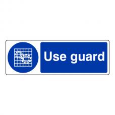 Use Guard Sign (Landscape)