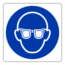 Eye Protection Logo Sign
