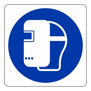 Welding Mask Logo Sign