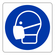 Mask Logo Sign