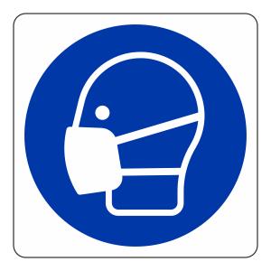 Mask Logo Sign