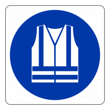 High Visibility Clothing Logo Sign