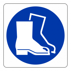 Protective Footwear Logo Sign