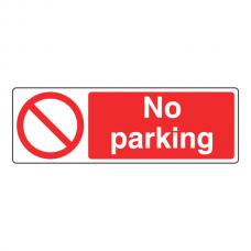 No Parking Sign (Landscape)