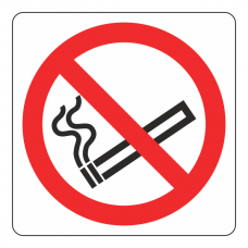 No Smoking Logo Sign