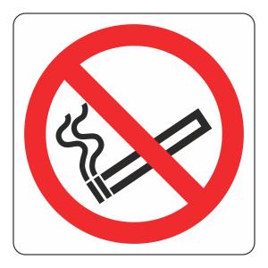 No Smoking Logo Sign