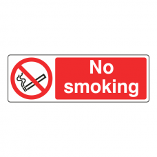 No Smoking Sign (Landscape)