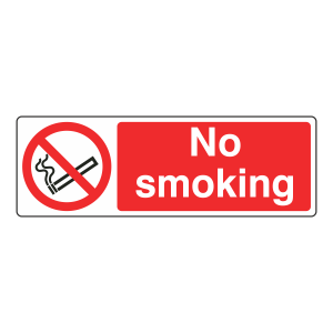 No Smoking Sign (Landscape)