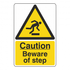 Caution Beware Of Step Sign
