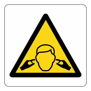 Warning Noise Hazard Logo Sign