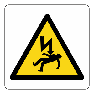 Warning Danger Of Death Logo Sign