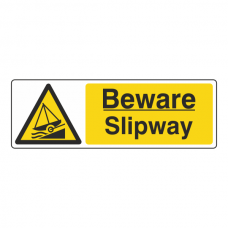 Beware Slipway Sign (Landscape)